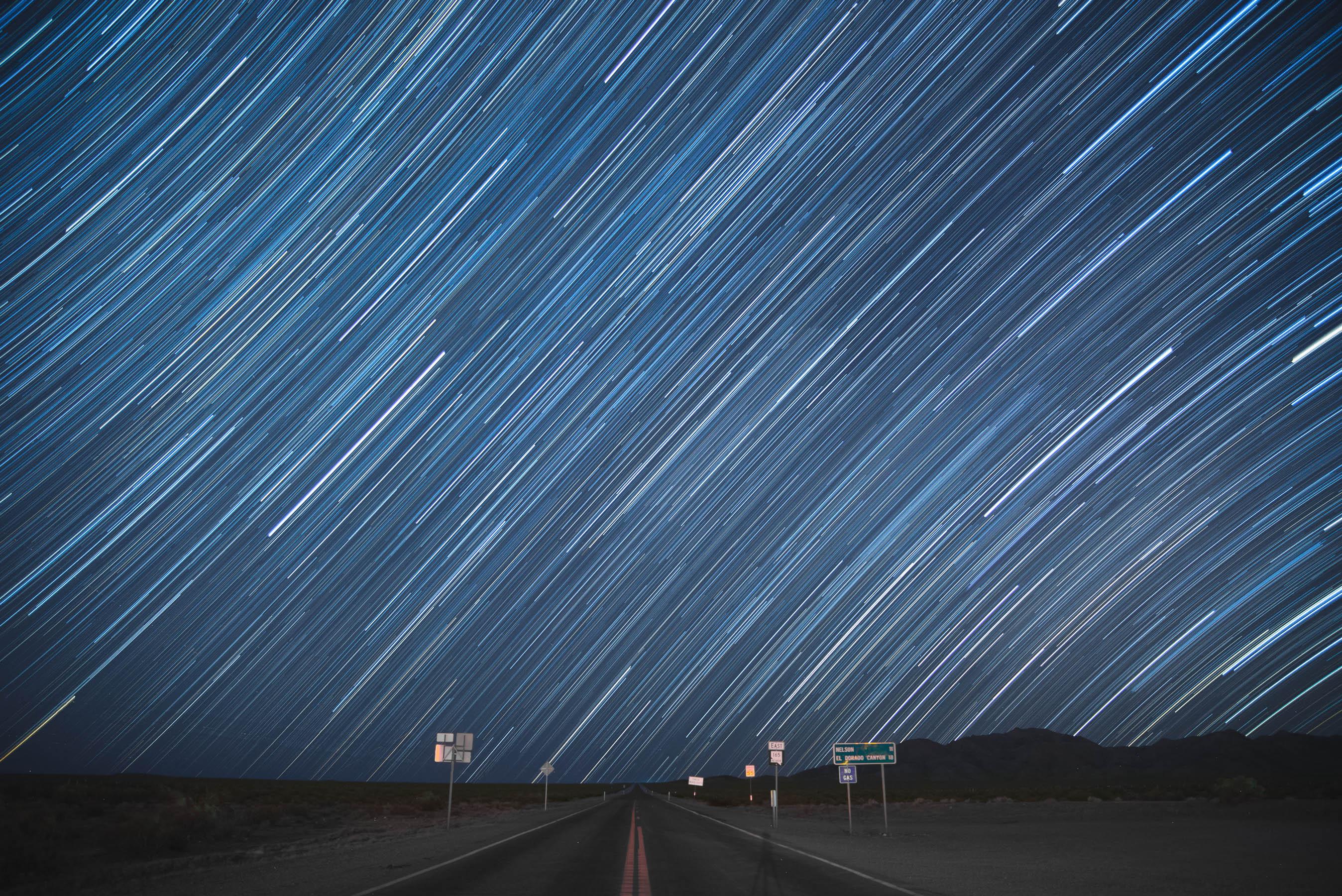 Star Trails near Nelson