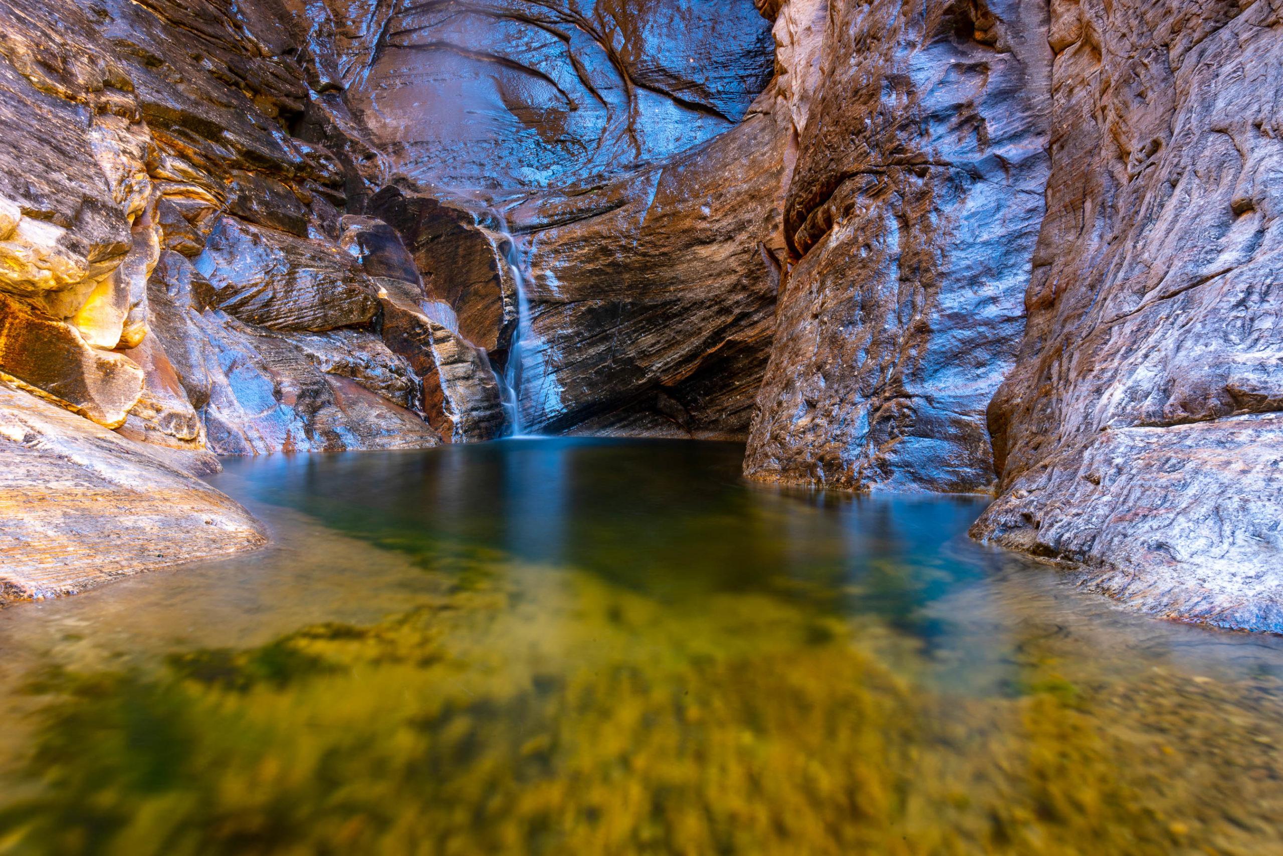 River at Ice Box Canyon