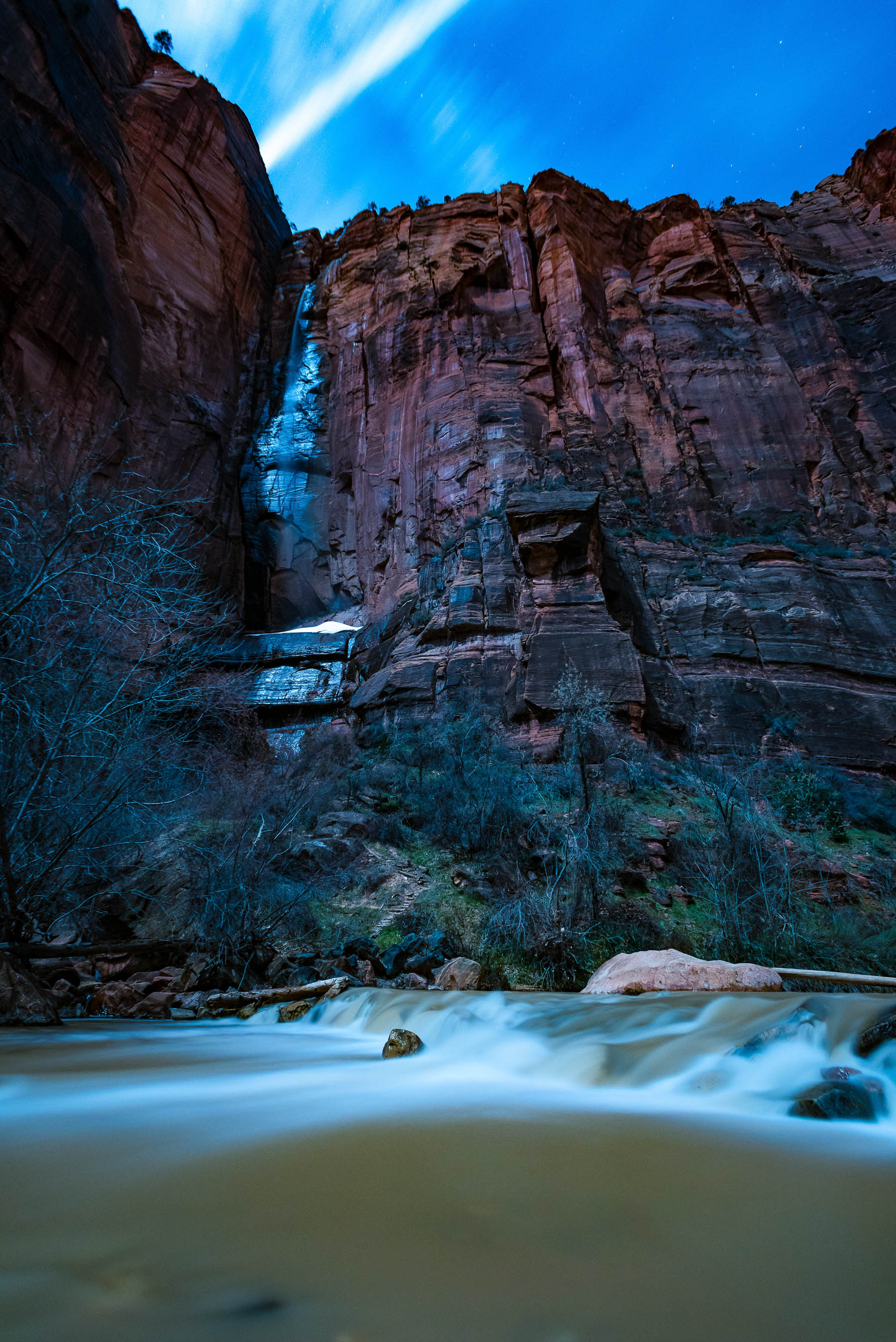Temple of Sinawava in Zion National Park