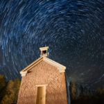 Star Trail at Grafton Church