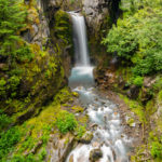 Christine Falls in Mount Rainer